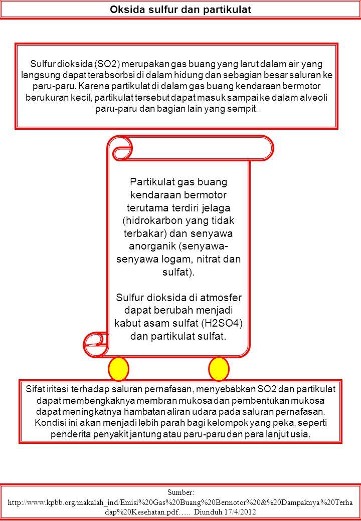 Oksida sulfur dan partikulat
