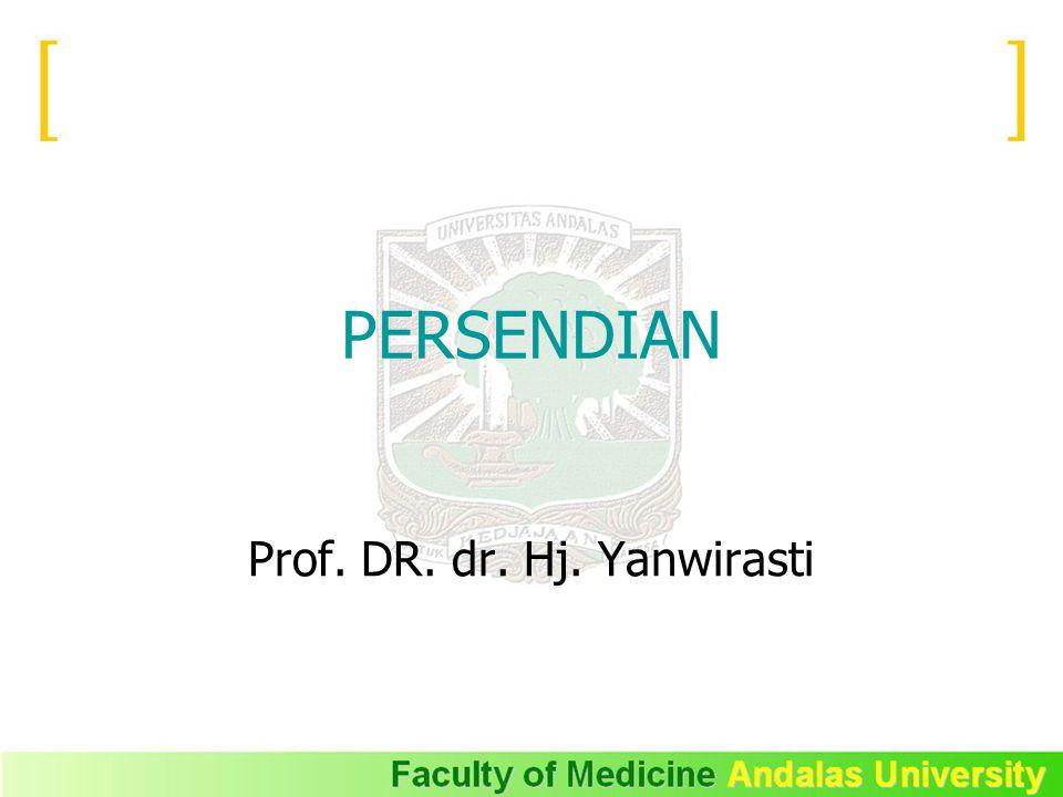Prof. DR. dr. Hj. Yanwirasti