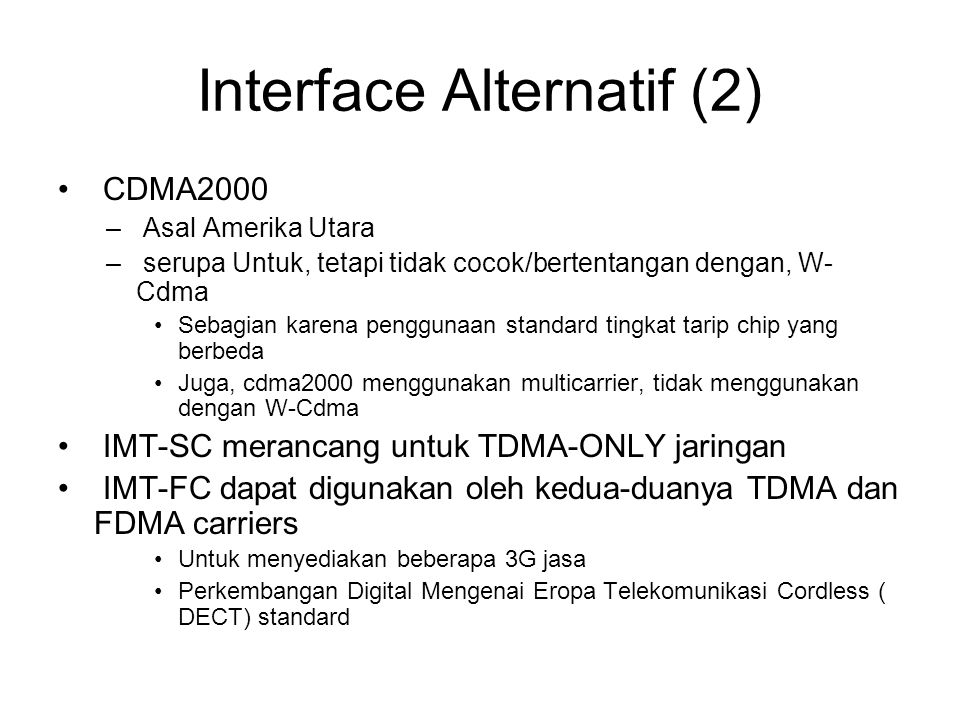Interface Alternatif (2)
