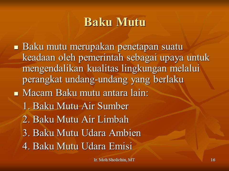 Baku Mutu