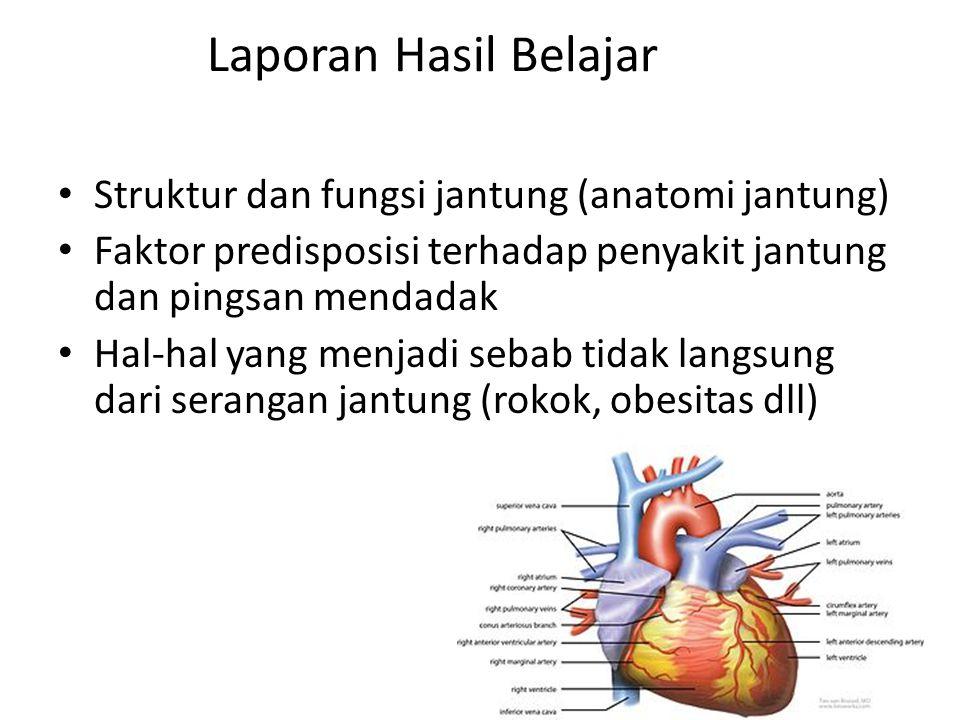 Laporan Hasil Belajar Struktur dan fungsi jantung (anatomi jantung)
