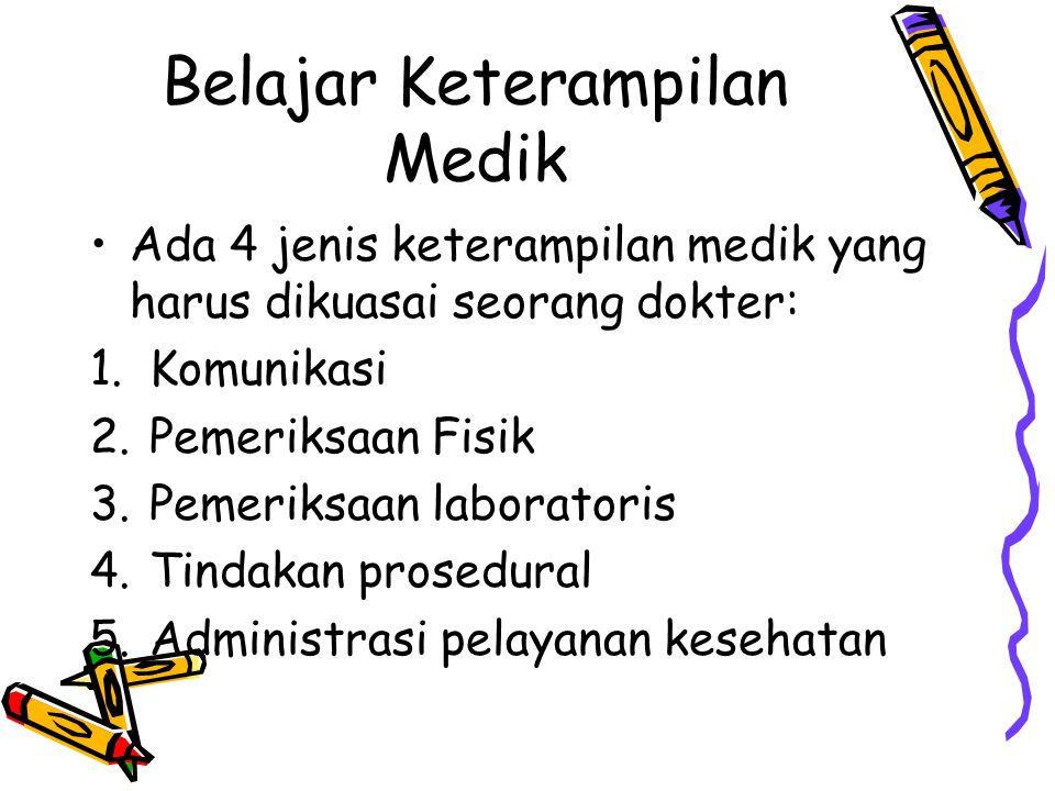 Belajar Keterampilan Medik