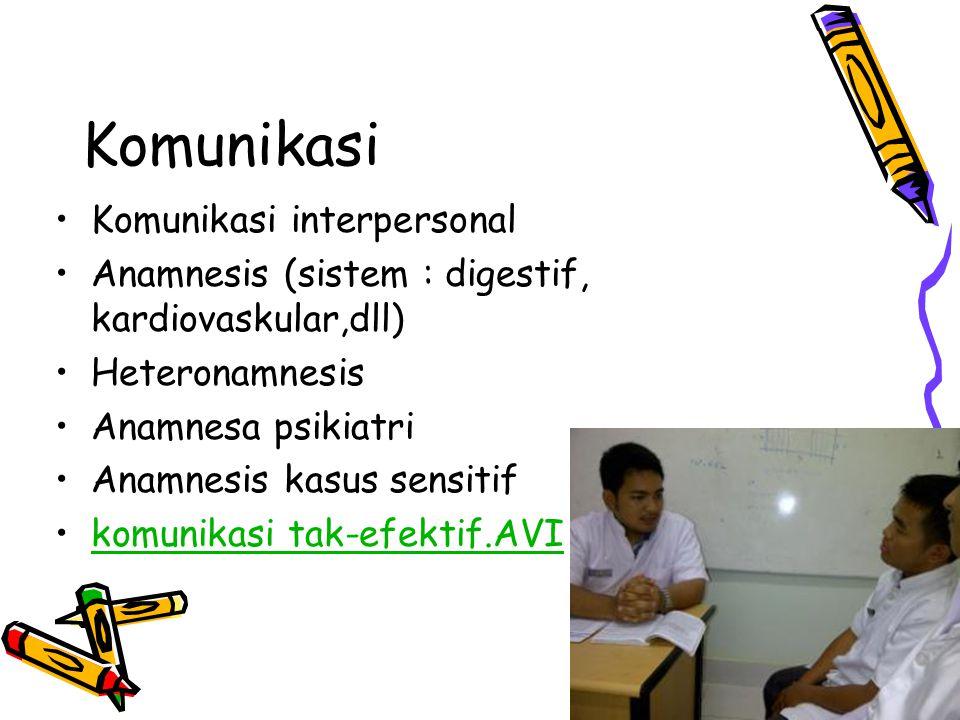 Komunikasi Komunikasi interpersonal
