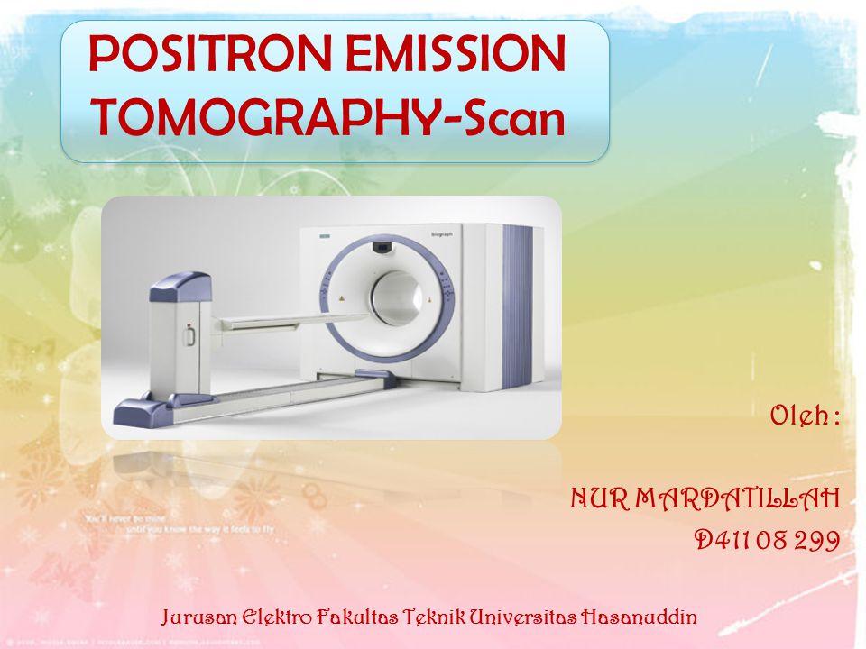 POSITRON EMISSION TOMOGRAPHY-Scan