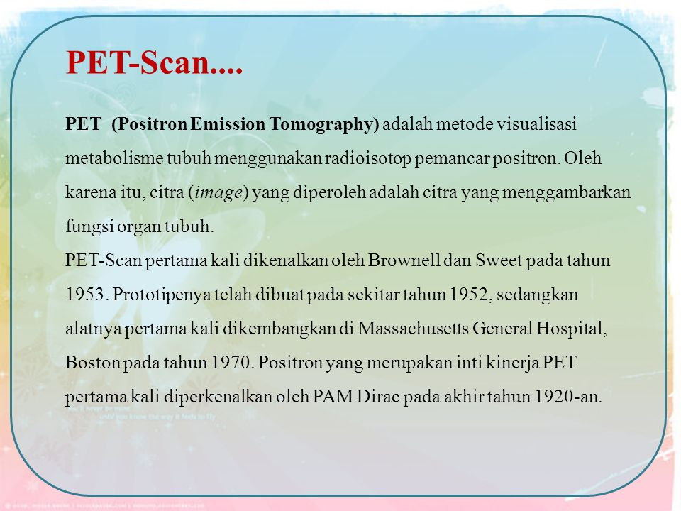 PET-Scan....