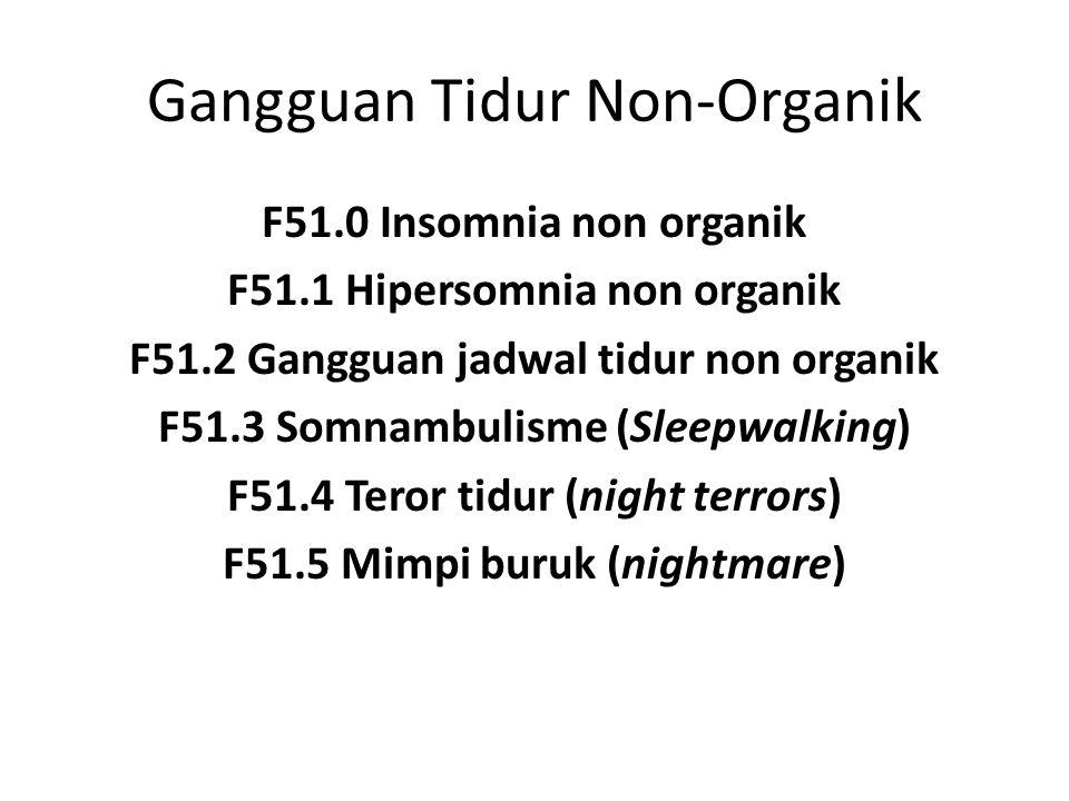 Gangguan Tidur Non-Organik