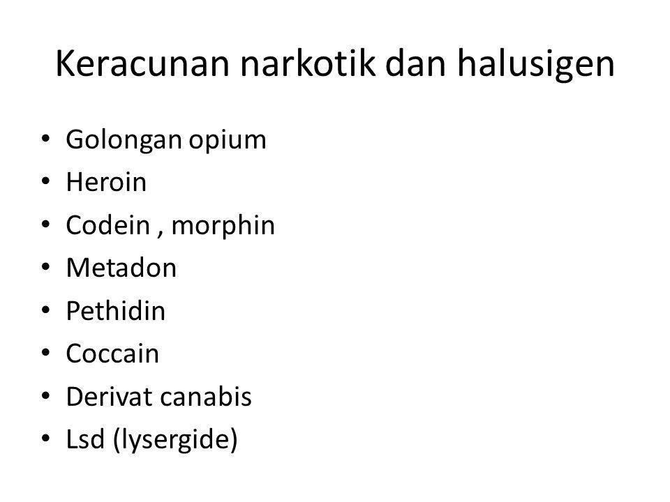 Keracunan narkotik dan halusigen