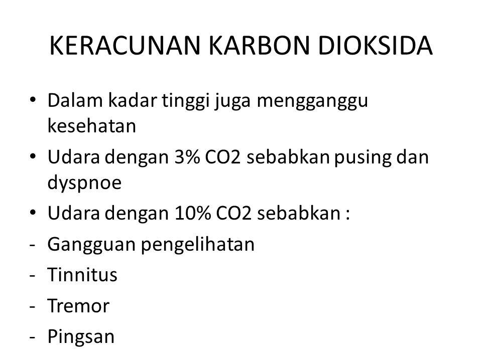 KERACUNAN KARBON DIOKSIDA