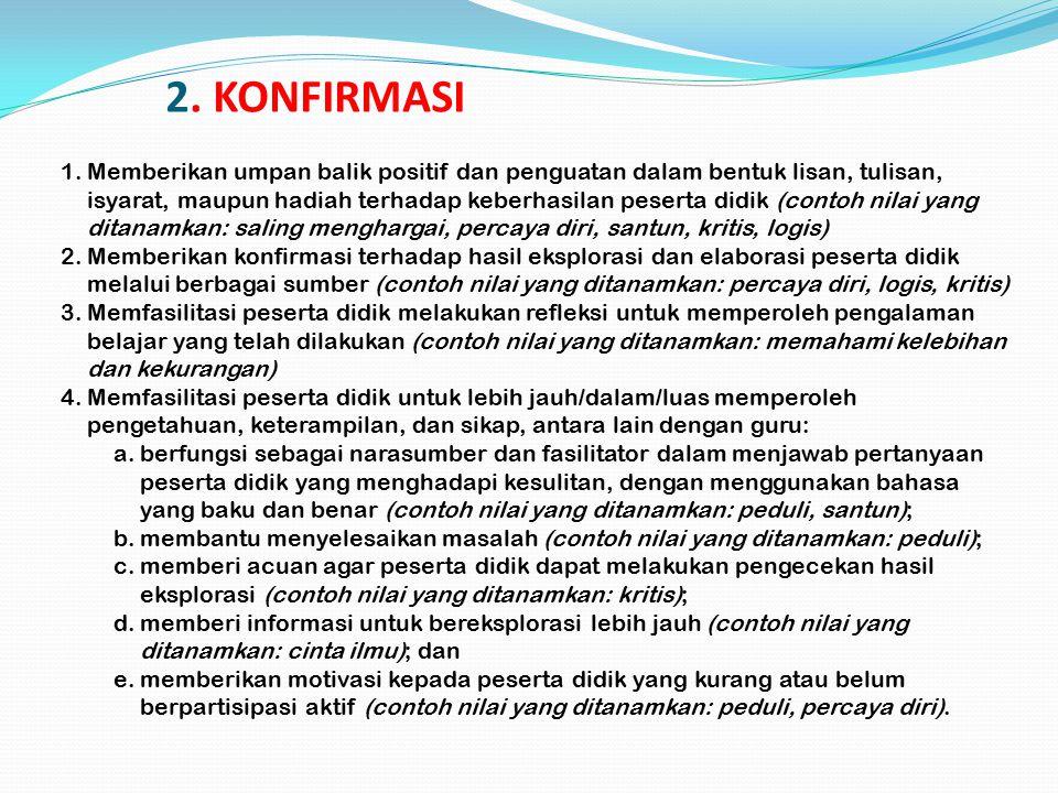 2. KONFIRMASI