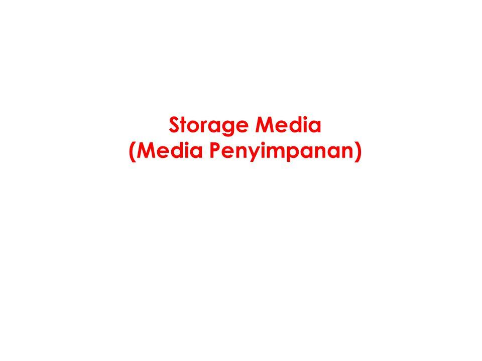 Storage Media (Media Penyimpanan)