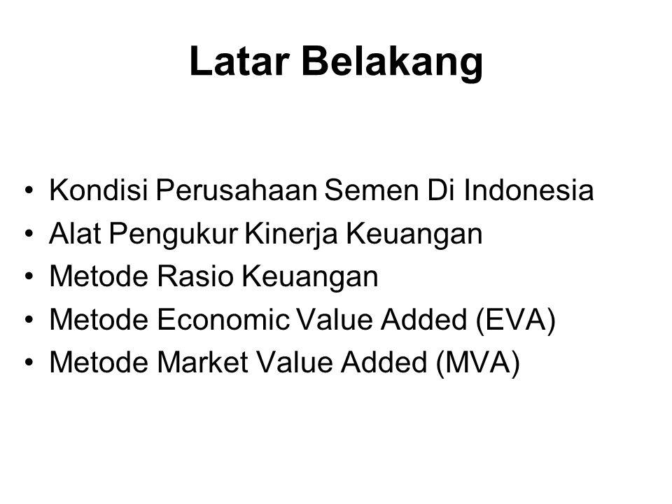 Latar Belakang Kondisi Perusahaan Semen Di Indonesia