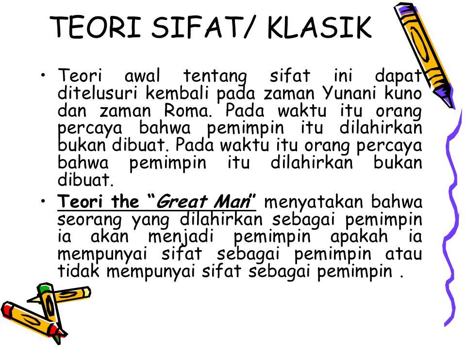 TEORI SIFAT/ KLASIK