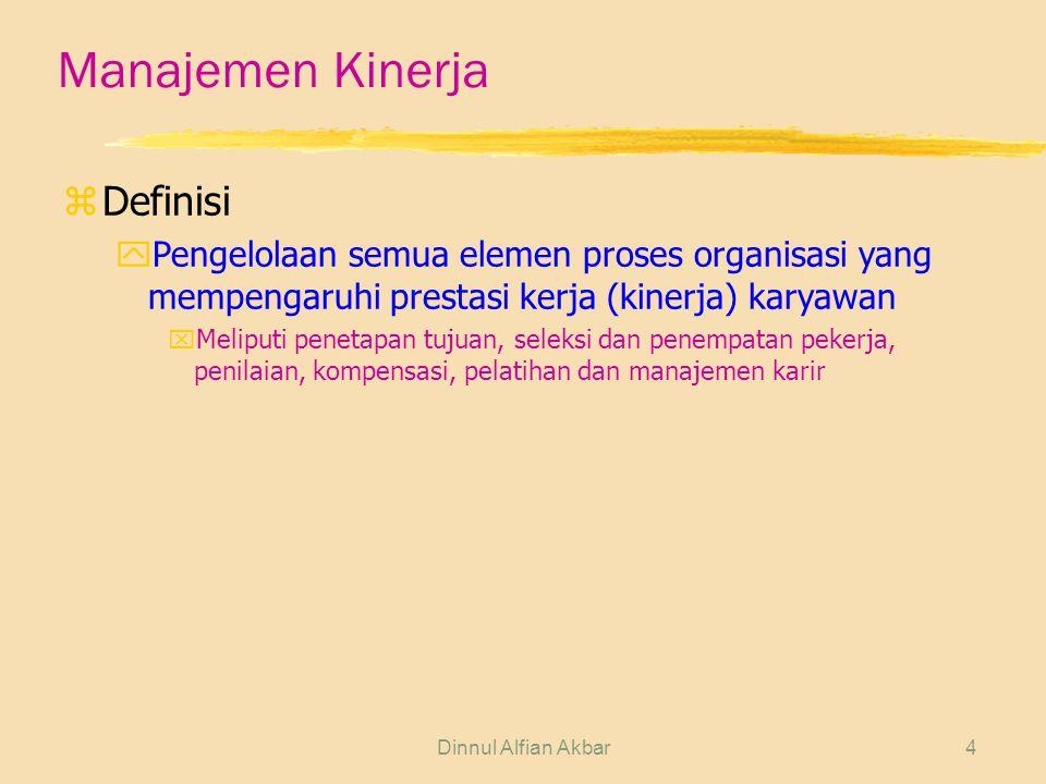 Manajemen Kinerja Definisi