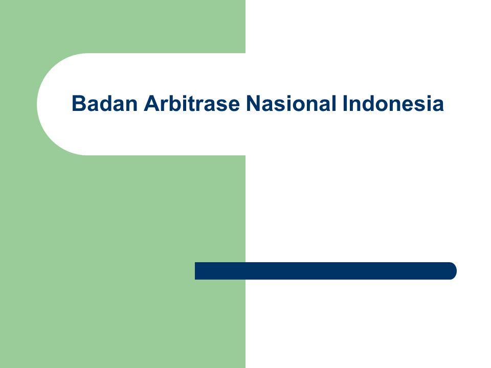 Badan Arbitrase Nasional Indonesia