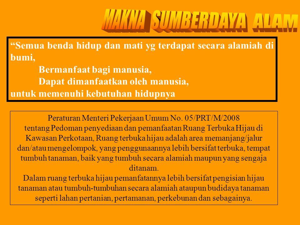 Peraturan Menteri Pekerjaan Umum No. 05/PRT/M/2008