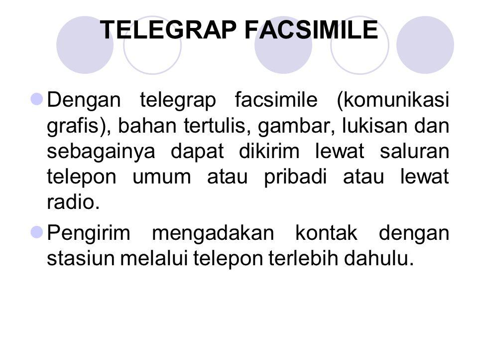 TELEGRAP FACSIMILE