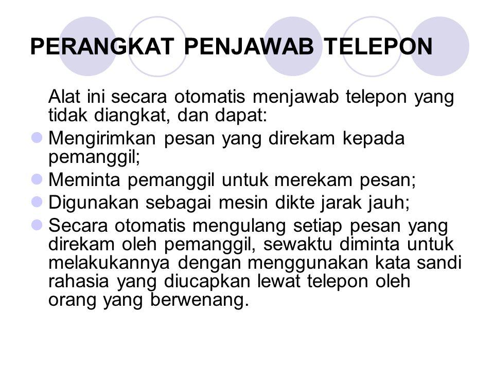 PERANGKAT PENJAWAB TELEPON