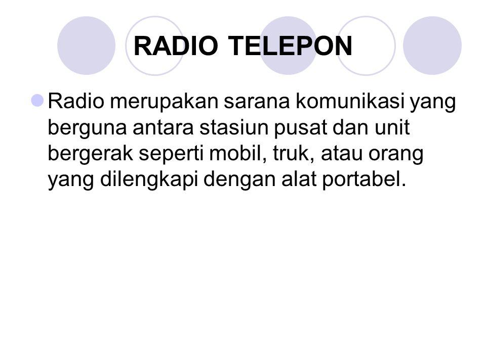 RADIO TELEPON