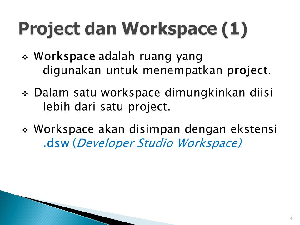 Project dan Workspace (1)
