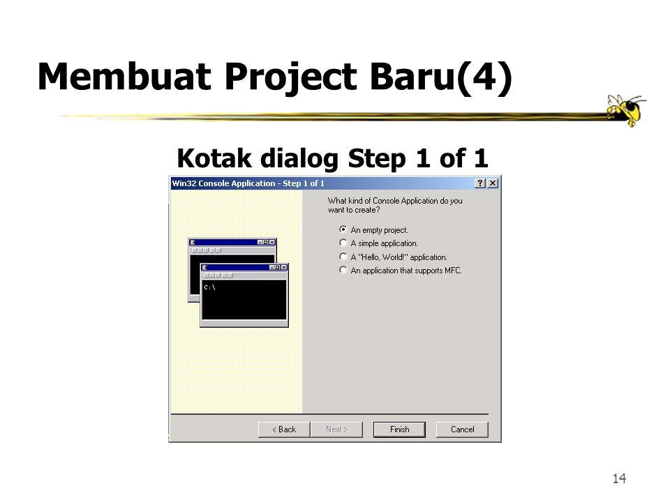 Membuat Project Baru(4)