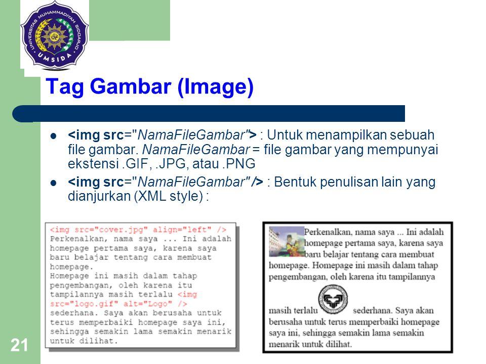 Tag Gambar (Image)