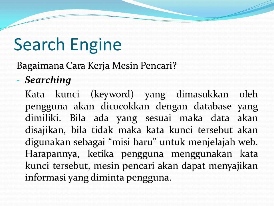 Search Engine Bagaimana Cara Kerja Mesin Pencari Searching