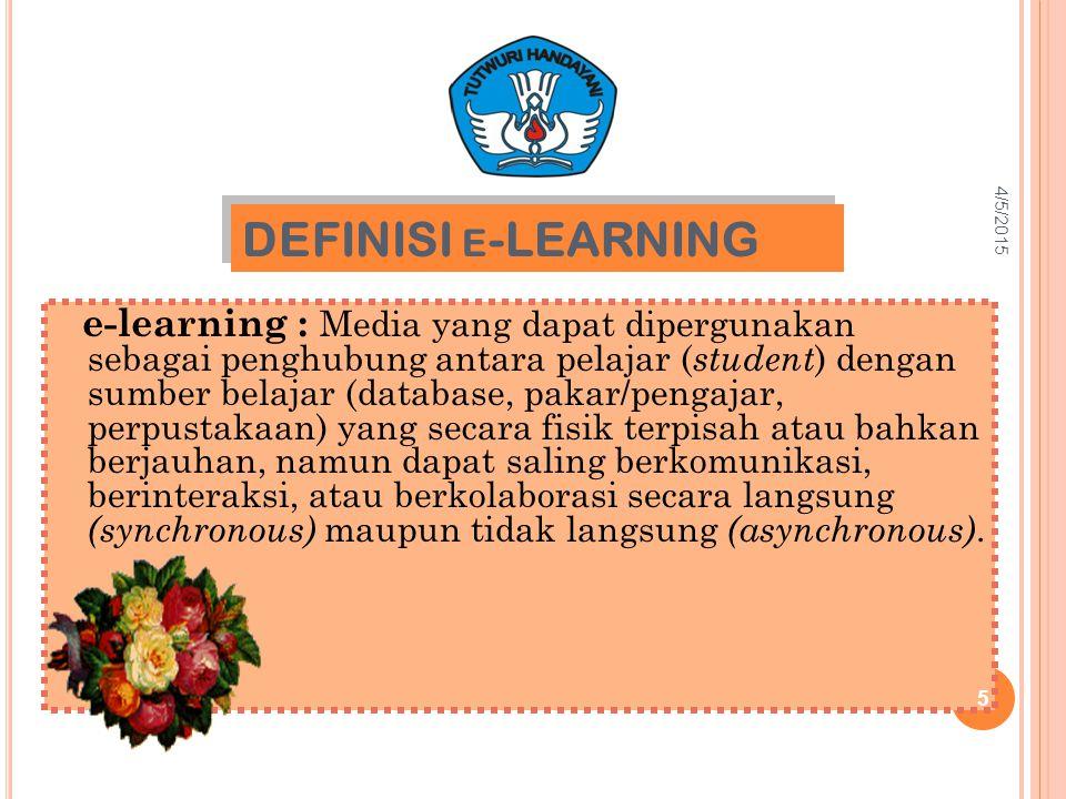 4/9/2017 DEFINISI e-LEARNING.