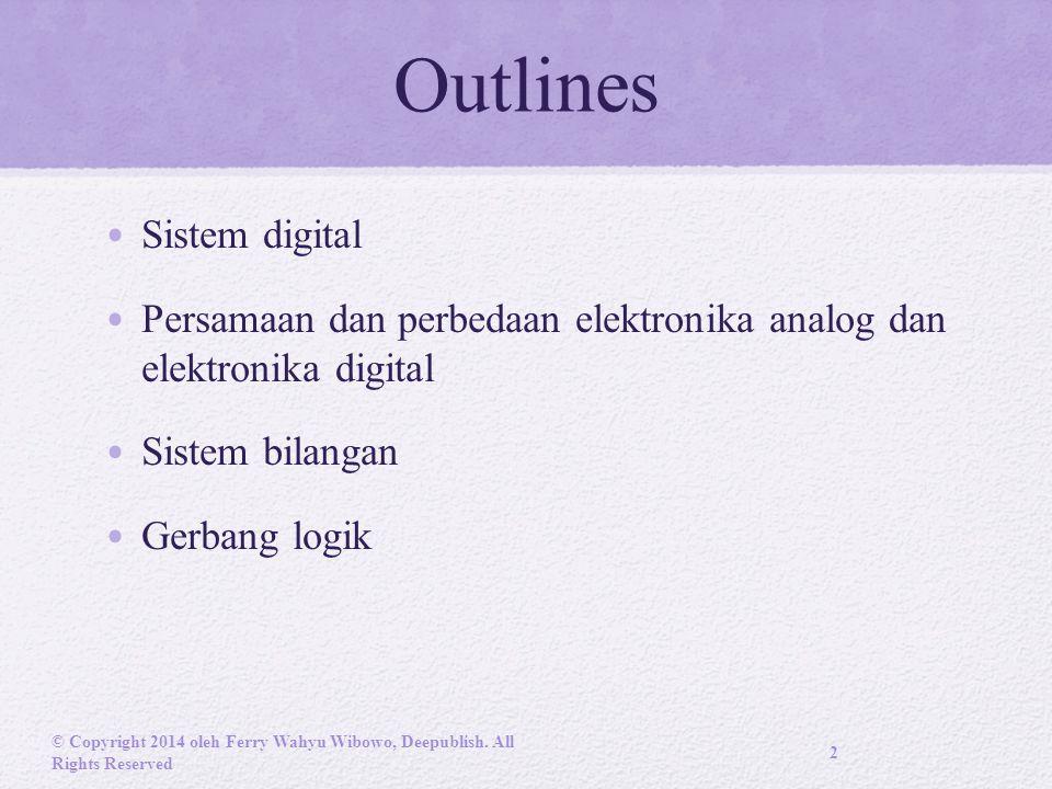 Outlines Sistem digital