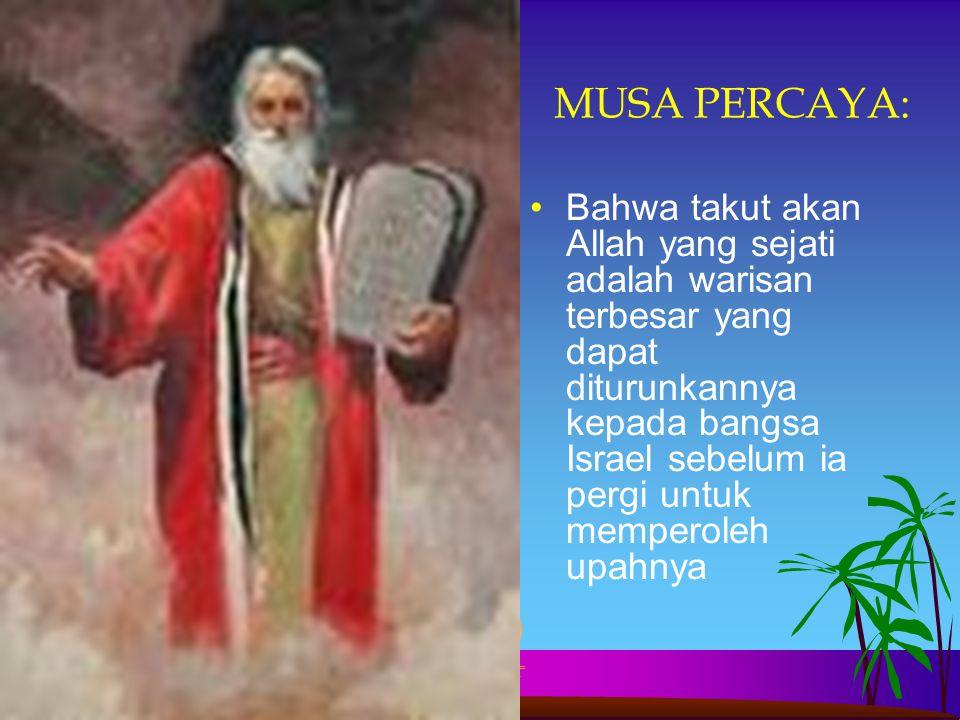 MUSA PERCAYA: