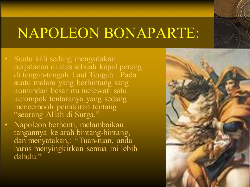 NAPOLEON BONAPARTE:
