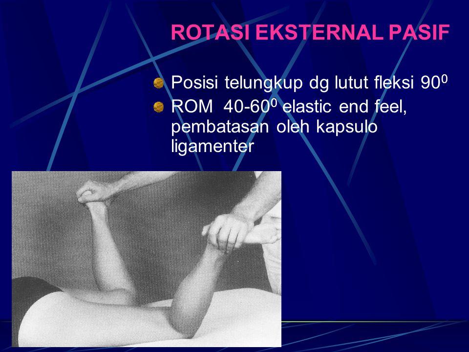 ROTASI EKSTERNAL PASIF