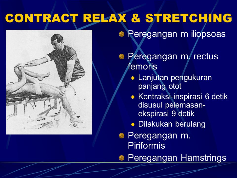 CONTRACT RELAX & STRETCHING