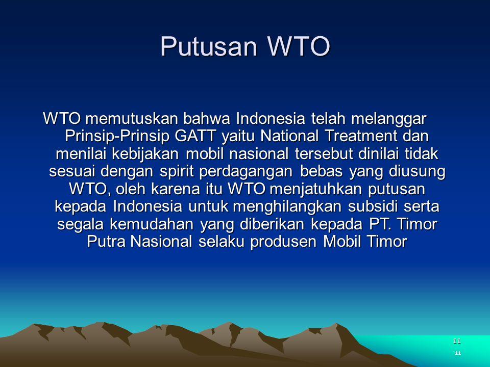 Putusan WTO