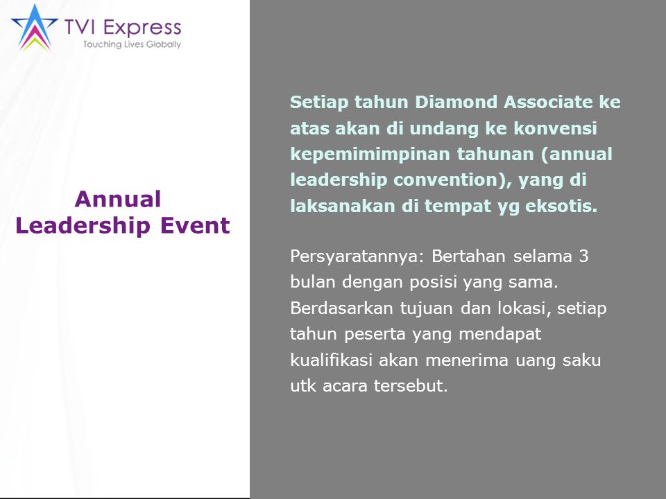 Annual Leadership Event