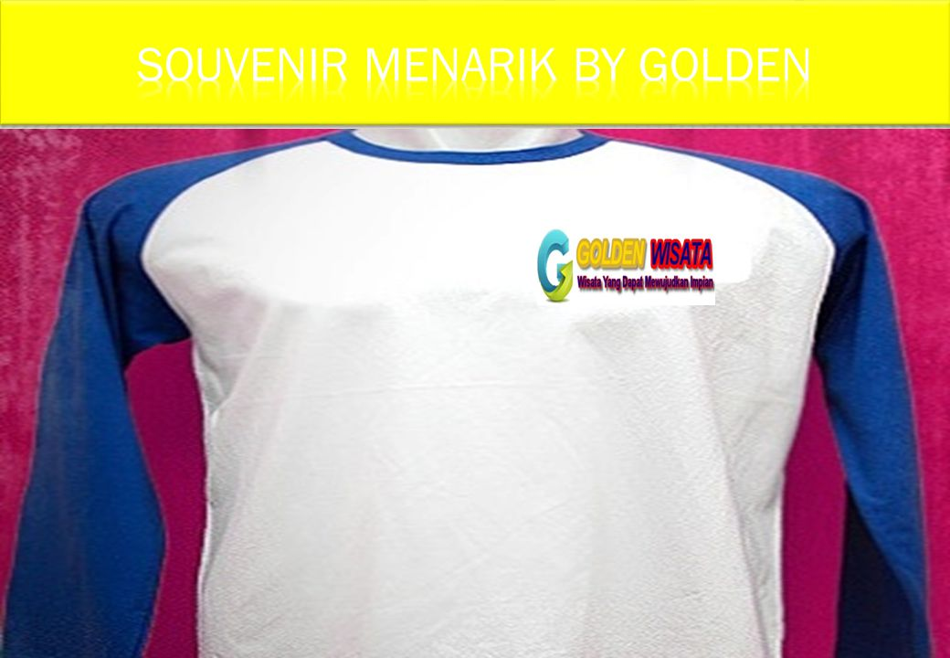 SOUVENIR MENARIK BY GOLDEN