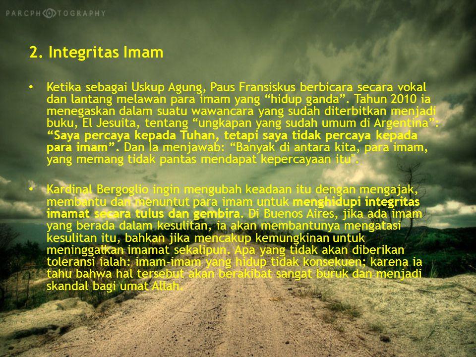 2. Integritas Imam