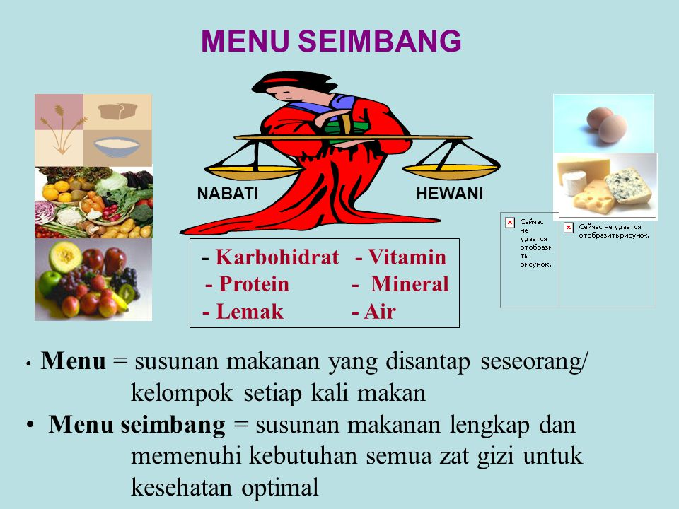 - Karbohidrat - Vitamin