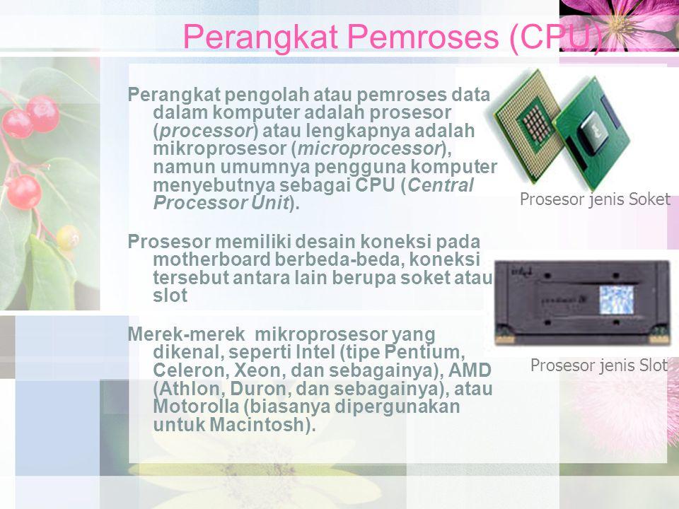 Perangkat Pemroses (CPU)