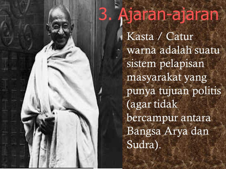 3. Ajaran-ajaran
