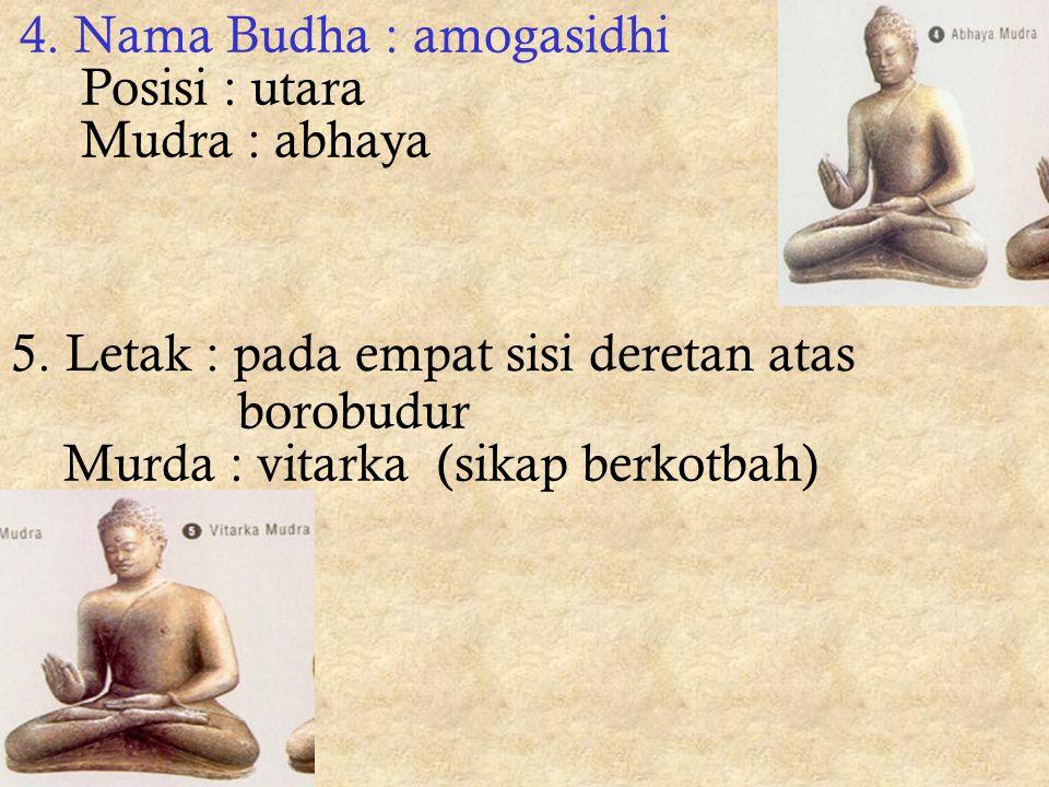 4. Nama Budha : amogasidhi