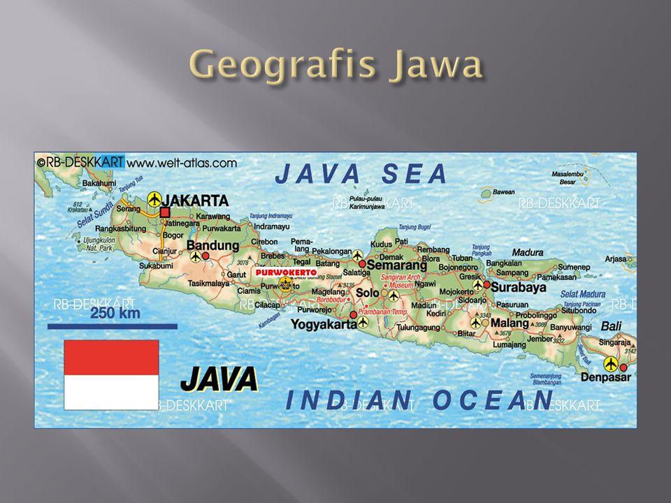 Geografis Jawa