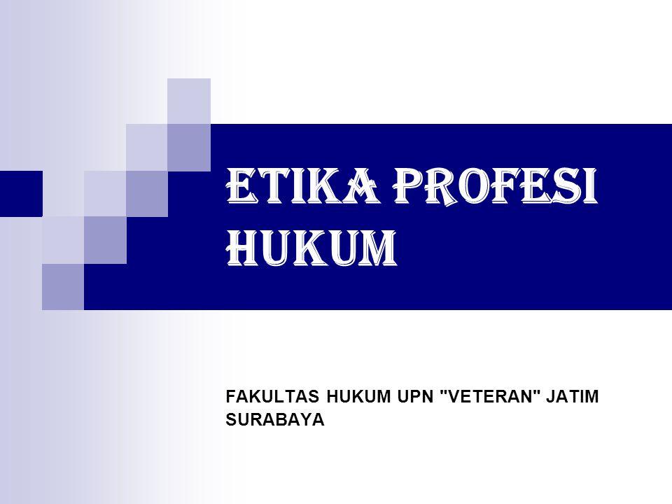 FAKULTAS HUKUM UPN VETERAN JATIM SURABAYA