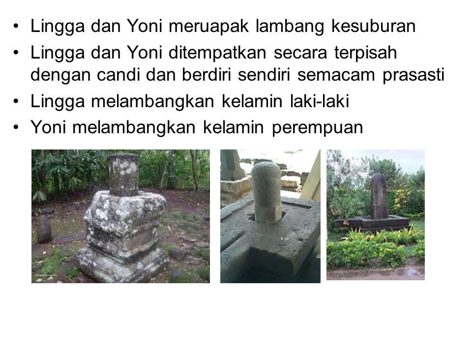 Lingga dan Yoni meruapak lambang kesuburan