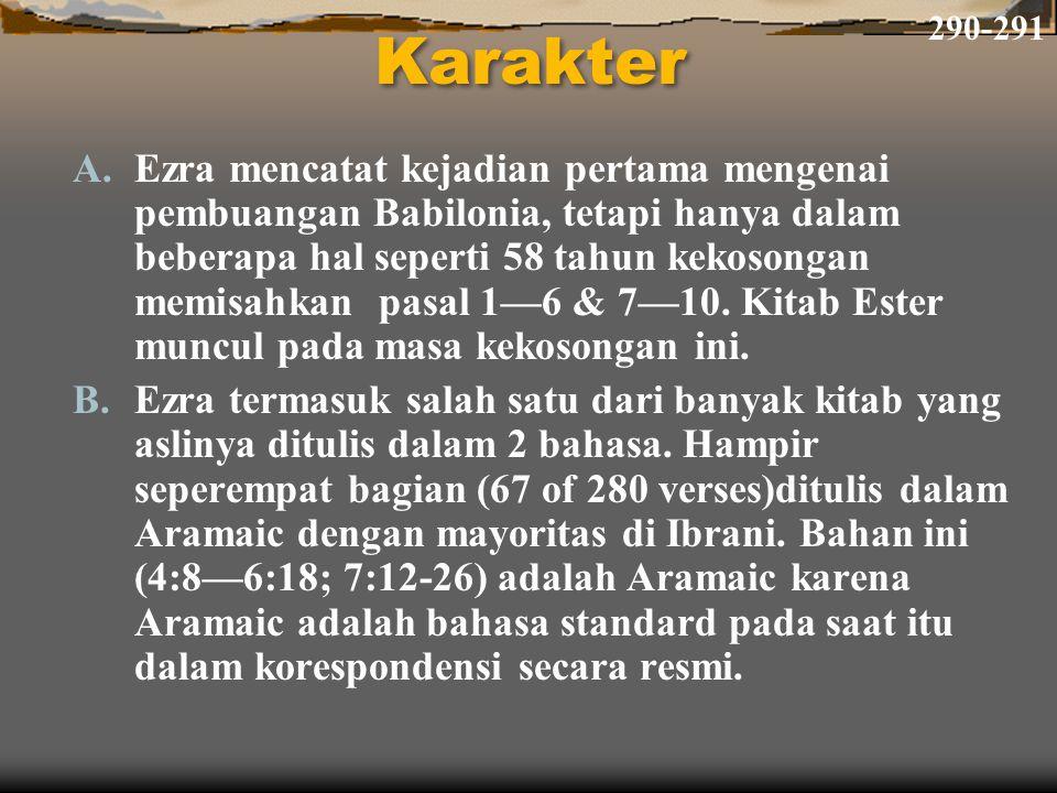 290-291 Karakter.