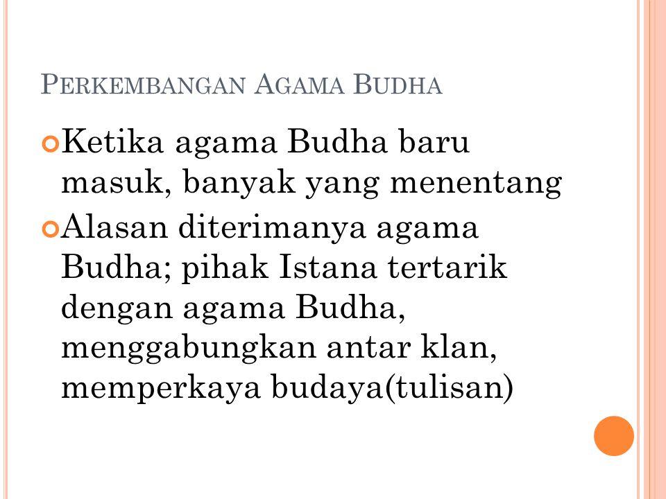 Perkembangan Agama Budha