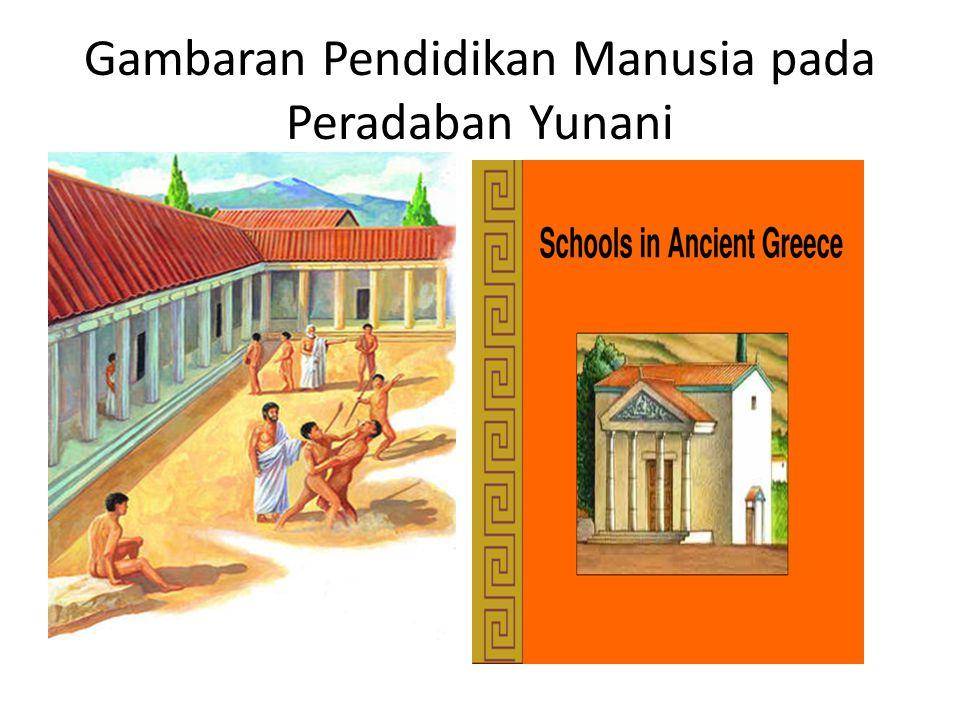 Gambaran Pendidikan Manusia pada Peradaban Yunani