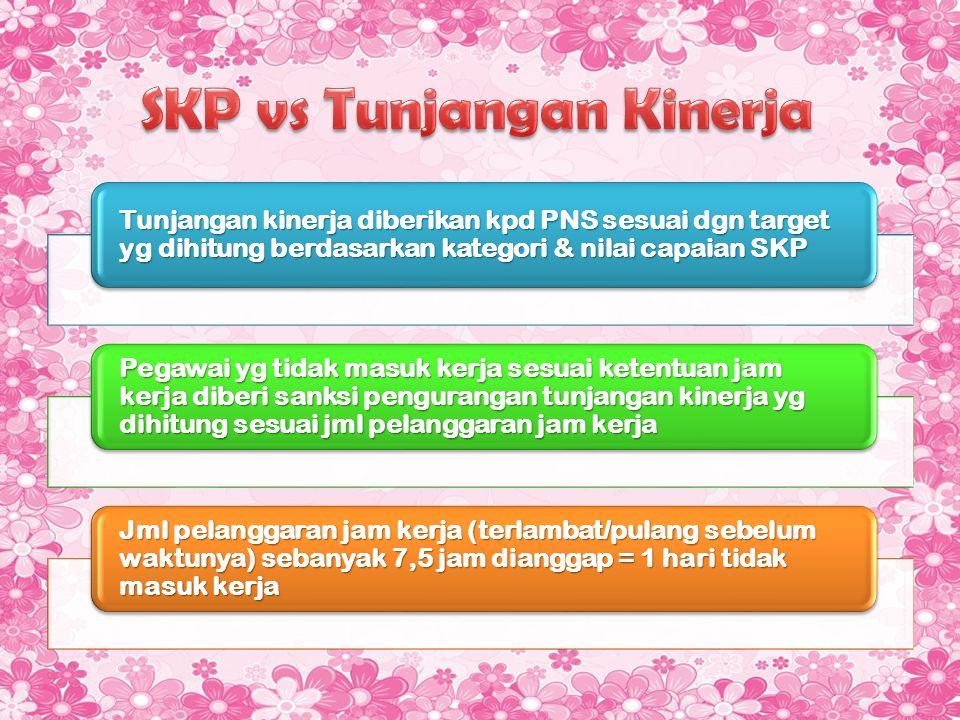 SKP vs Tunjangan Kinerja