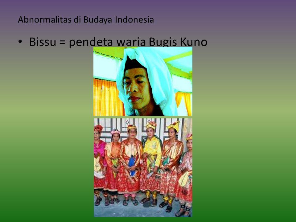 Abnormalitas di Budaya Indonesia
