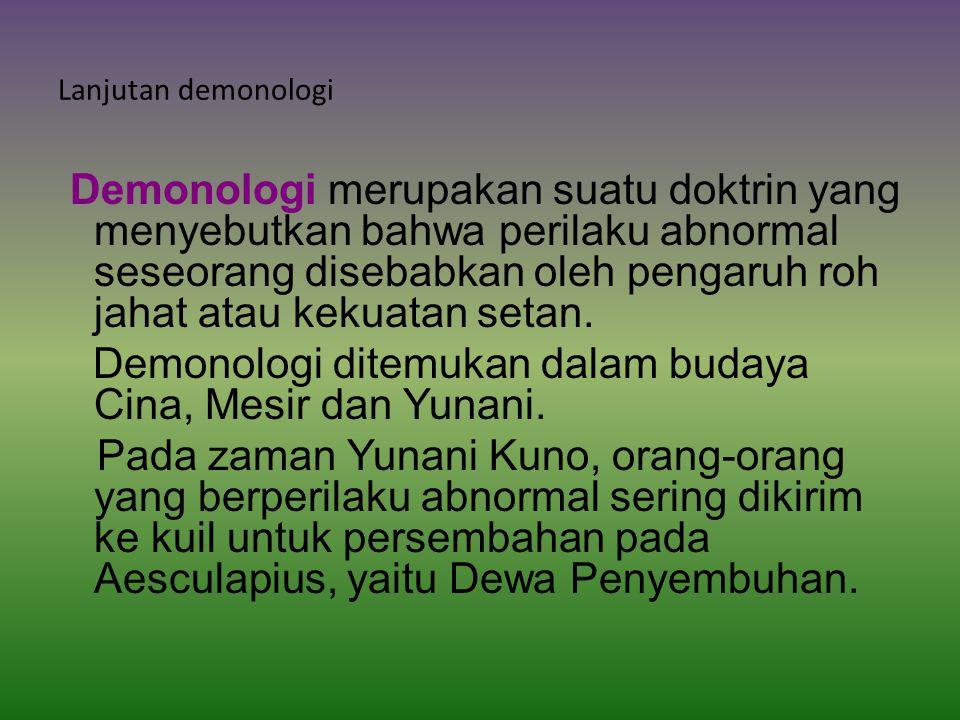 Lanjutan demonologi