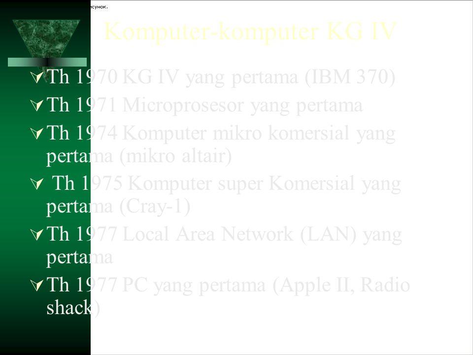 Komputer-komputer KG IV